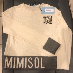 Mimi Sol Sweater with M Embellished